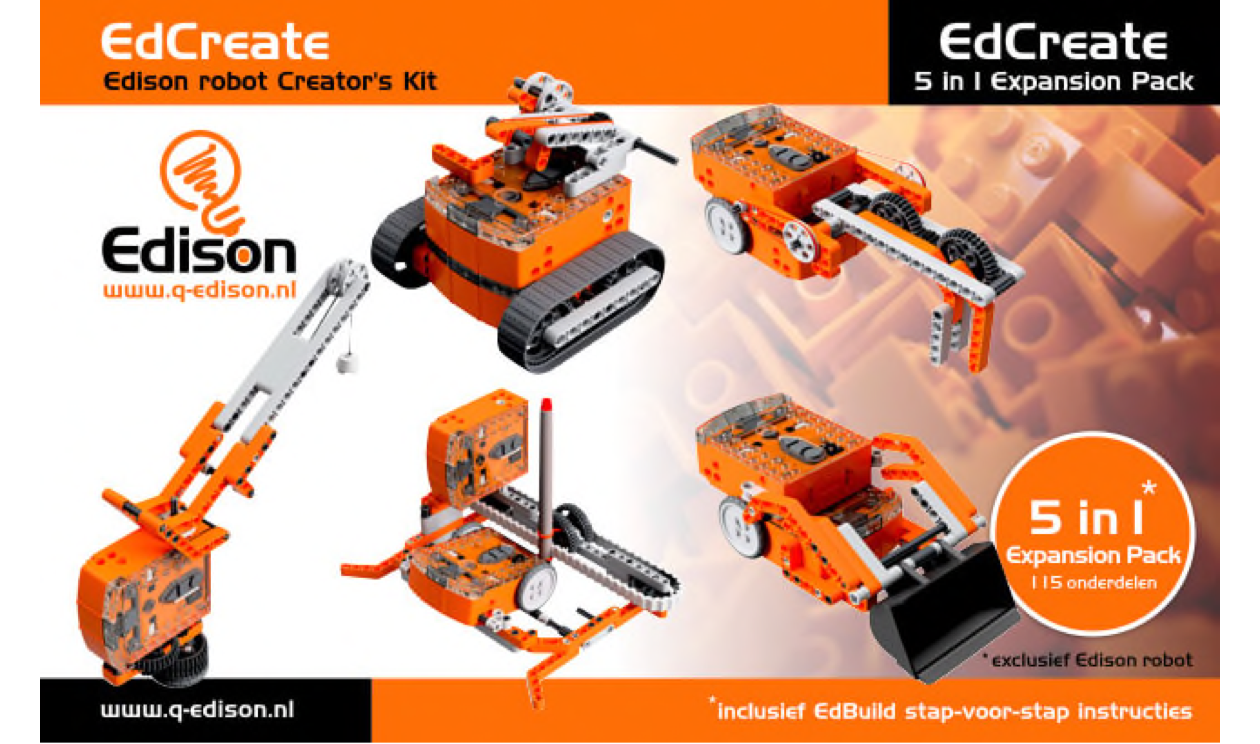 EdCreate | Edison robot Creator's Kit