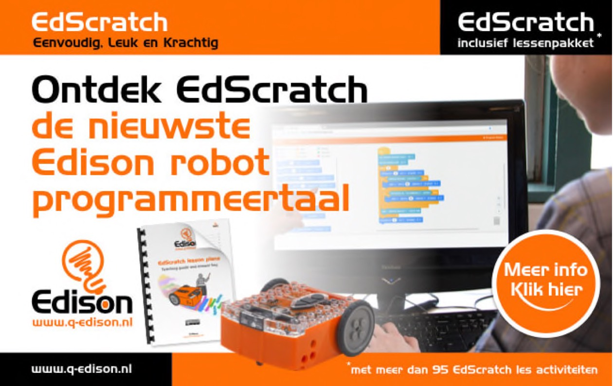 EdBlocks, EdScratch en EdPy Edison robot programmeertalen